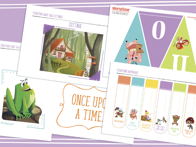 Storytime Fairy Tale Deco Pack