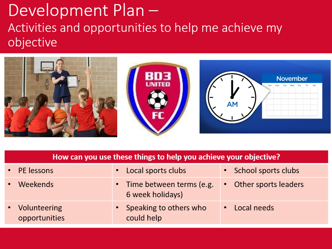 BTEC Sport - Unit 6 - Leading Sports Activities