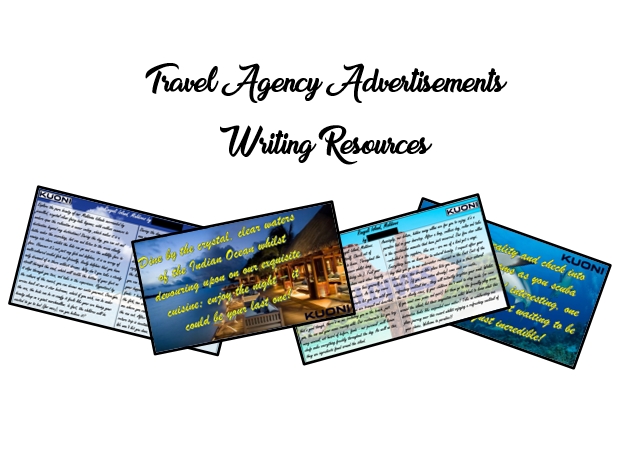KS2 Maldives Travel Agency Advertising Writing Resources