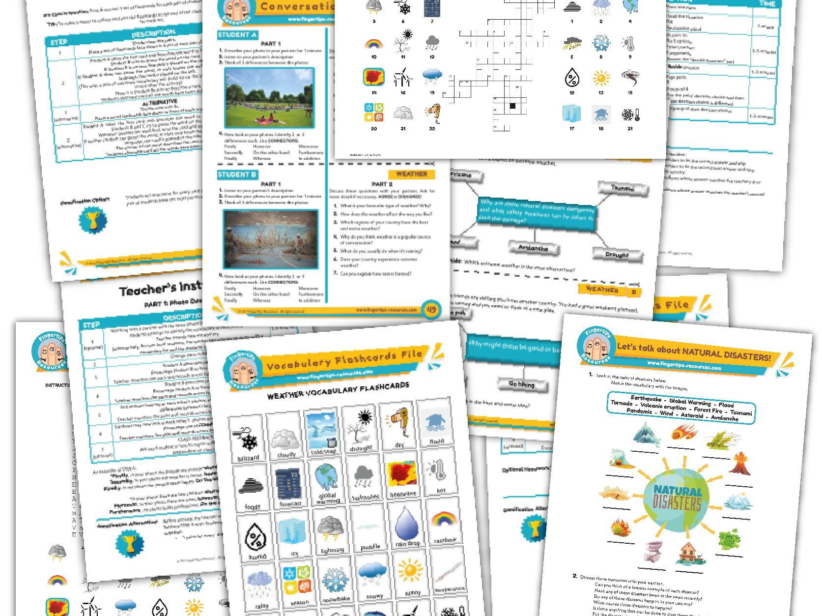 Weather & Climate Unit - ESL Activity Bundle