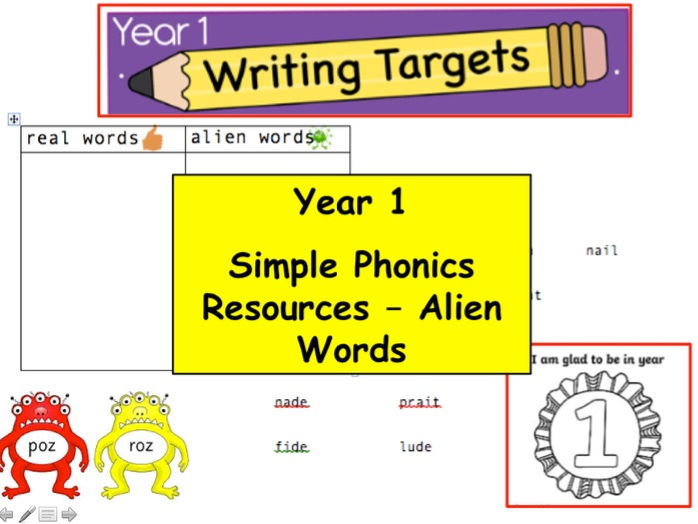 Year 1 & EYFS Simple Phonics Fun Sorting Activity - (EYFS, English, Phonics, Reading)