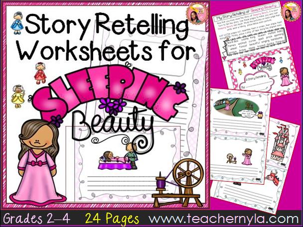 Sleeping Beauty - Retelling Worksheets
