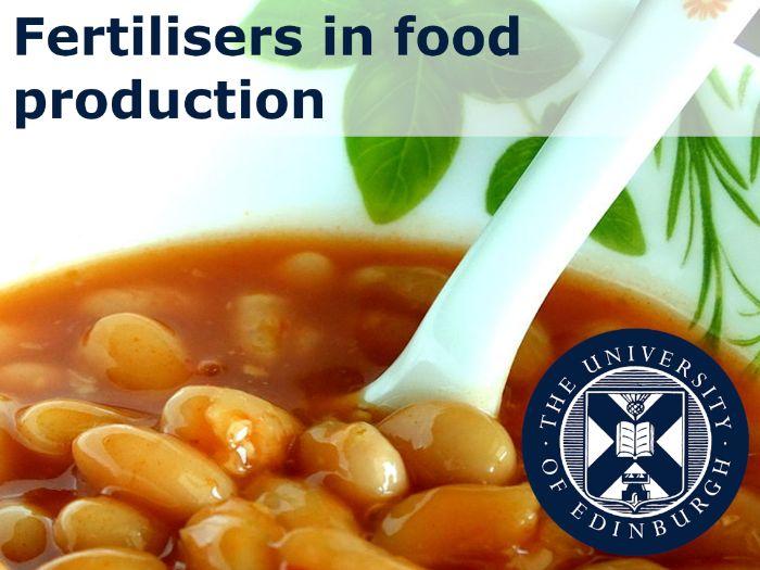Fertilisers in Food Production