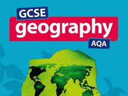 GCSE AQA Geography - Urban landscapes revision notes