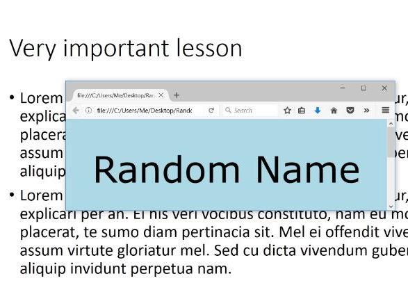 Random Name Generator - Pick names at random with a single keypress ...