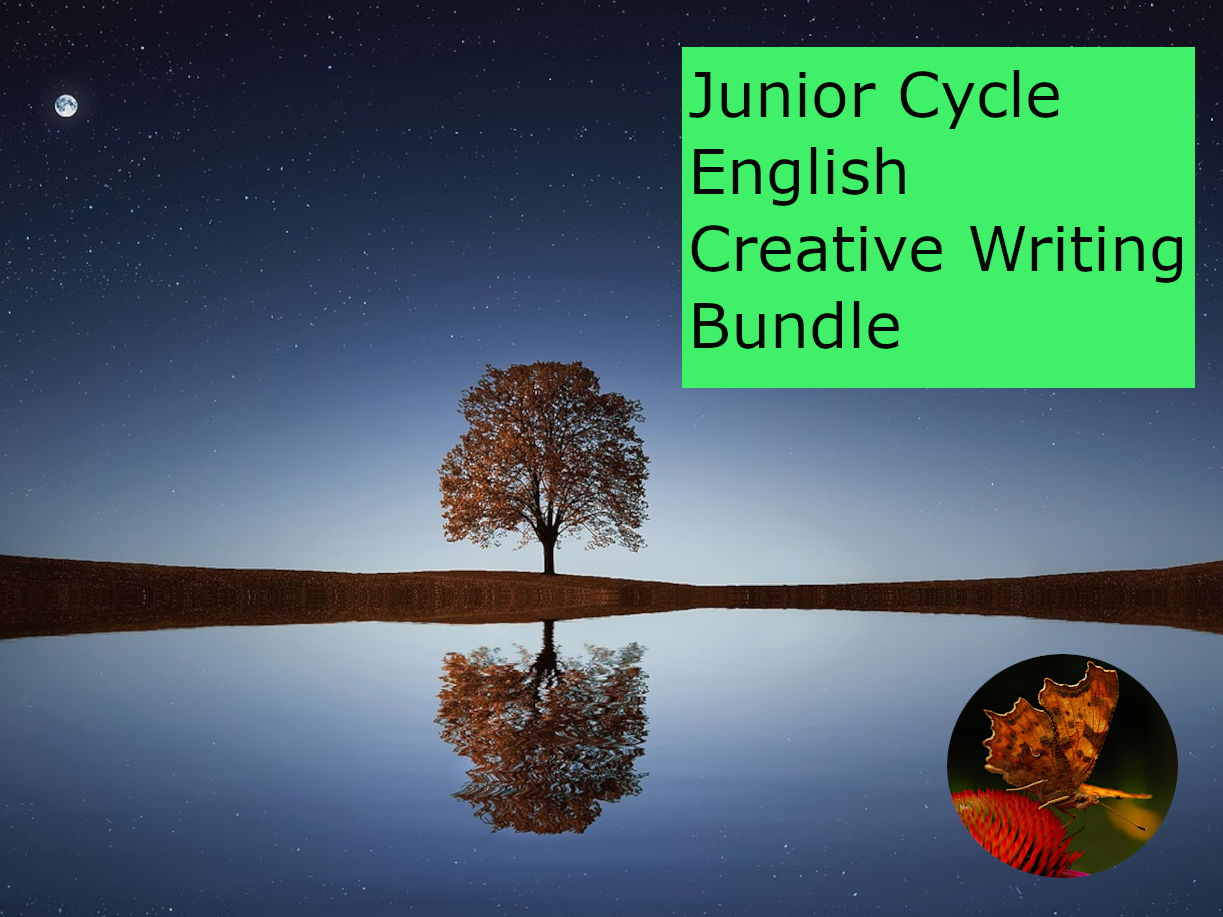 Junior Cycle English: Creative Writing Bundle