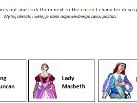 GCSE English Literature- Macbeth- Polish revision resources- matching and sequencing activities