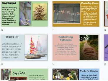 Outdoor Nature Themed Activity Ideas