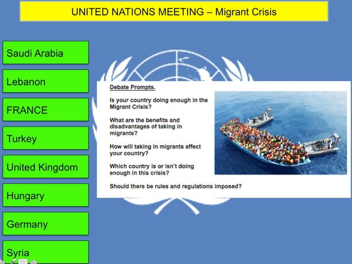 Migrant Crisis in Europe - United Nations Debate Resources