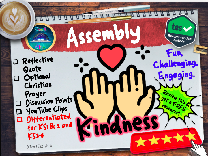 Assembly: Kindness Assembly/Assemblies (PSHE)