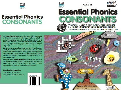 Essential Phonics: Consonants - For Ages: 8+ years