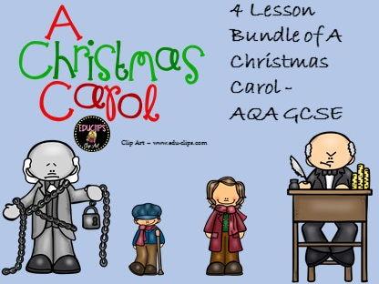 A Christmas Carol. 4 lessons. GCSE 9-1 & SOW