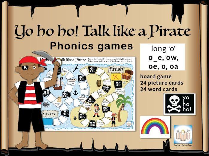 Yo ho ho! Talk like a Pirate Games