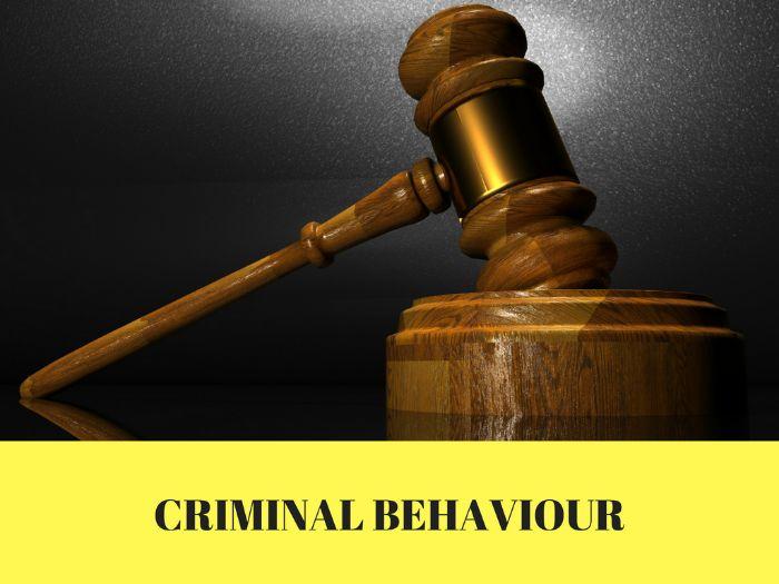 GCSE OCR Psychology 9-1 Criminal Behaviour