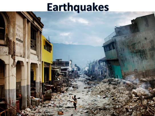 KS3 Natural Hazards - Earthquakes