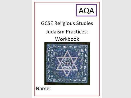 AQA Judaism: Practices Workbook and Exam Questions