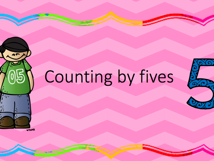 Count by fives - skip counting