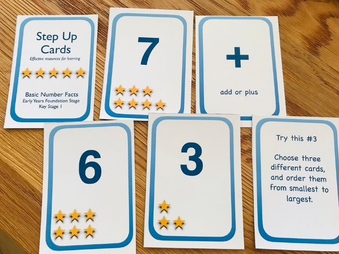 Basic Number Facts Activity Cards