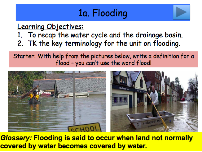 Lesson 1: What is Flooding?