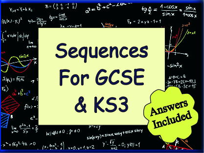 Sequences for KS3 and GCSE