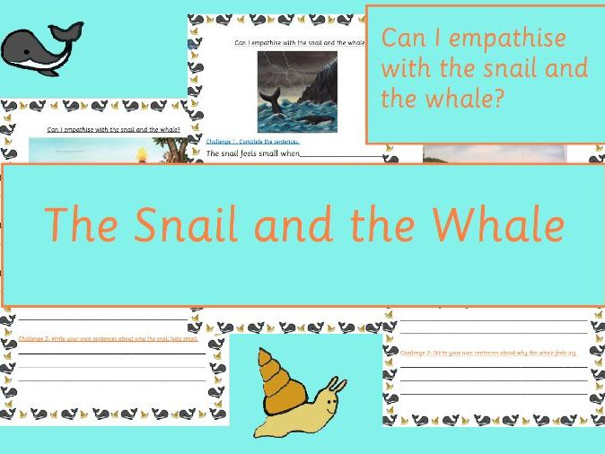 The Snail and the Whale Empathising