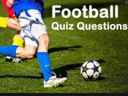 PE Football Quiz