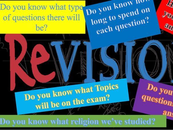 AQA RS New Spec 9-1 Exam structure presentation