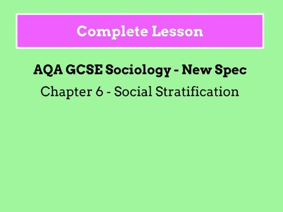 Lesson 8 - What is Social Mobility?