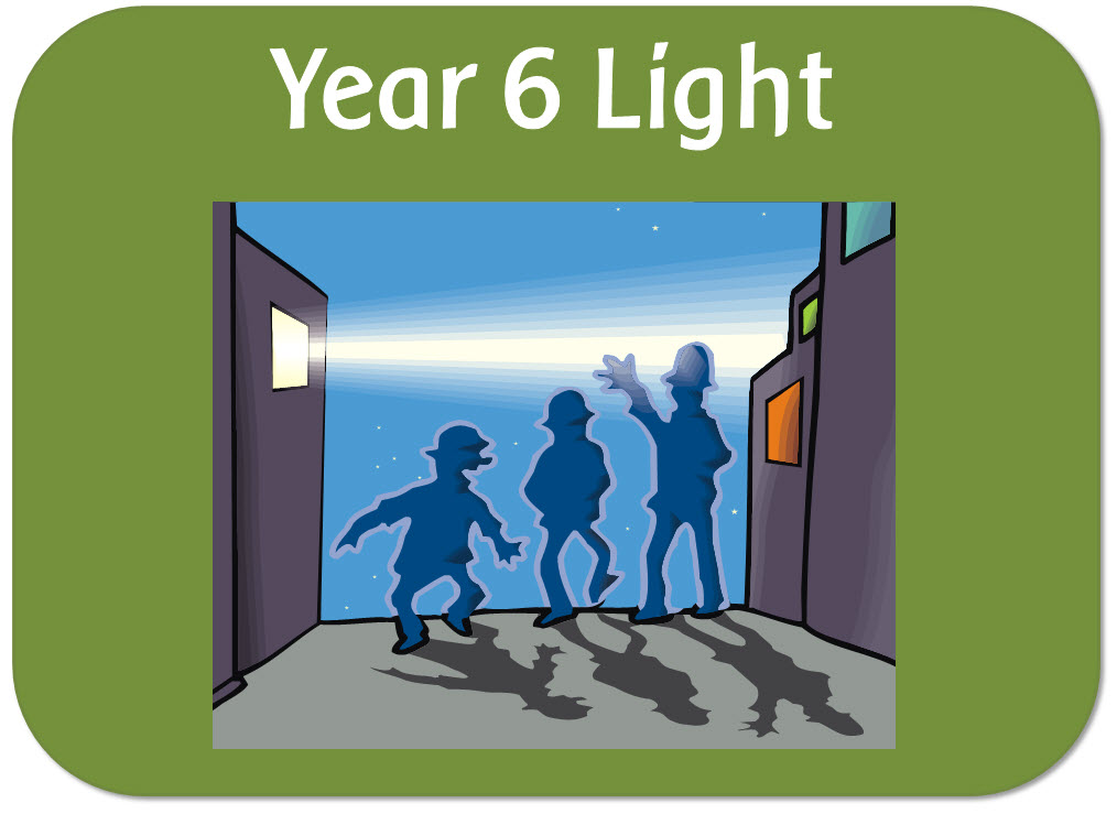 Year 6 science - Light - powerpoint lessons, worksheets and display pack