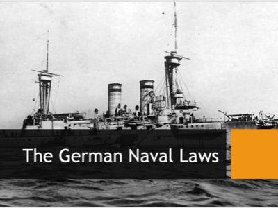 AQA 9-1 German Naval Laws (Germany L4)