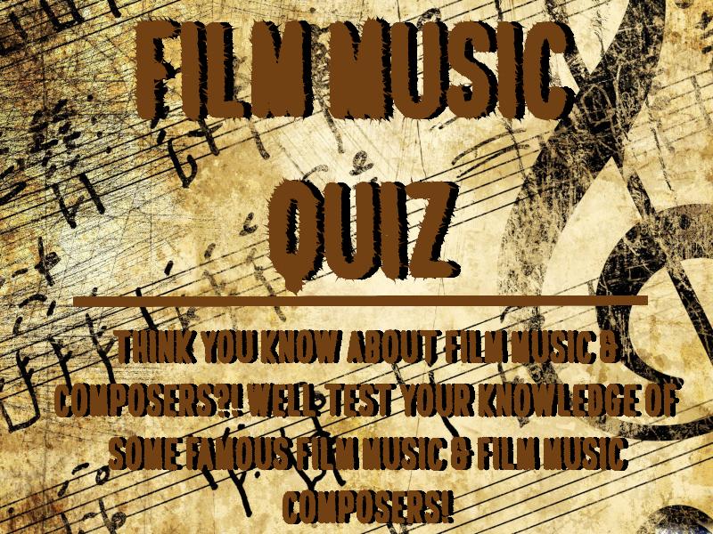 Film Music Quiz