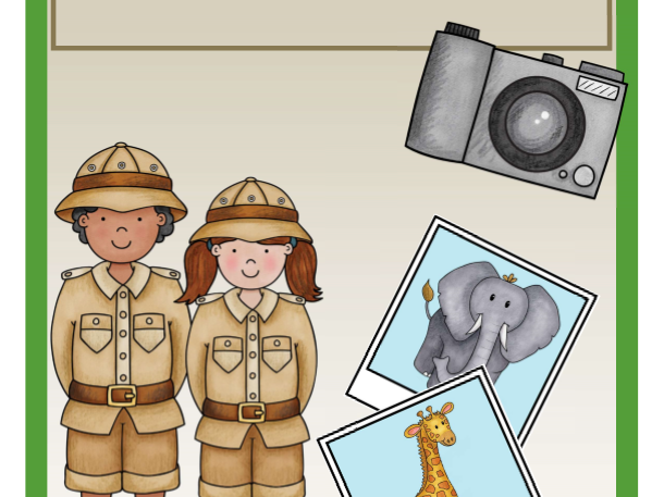 Un safari photo (Literacy and Numeracy)