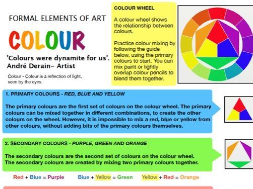 Colour - Formal Elements of Art 5