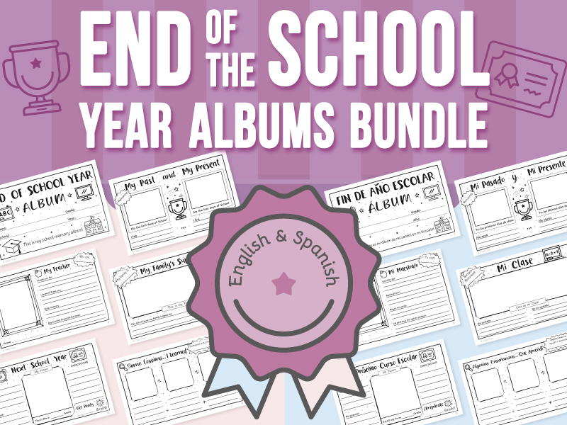 End of the School Year - Albums BUNDLE