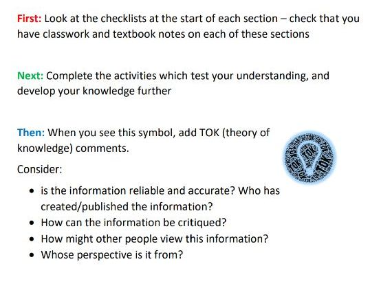 IB Changing Populations revision guide