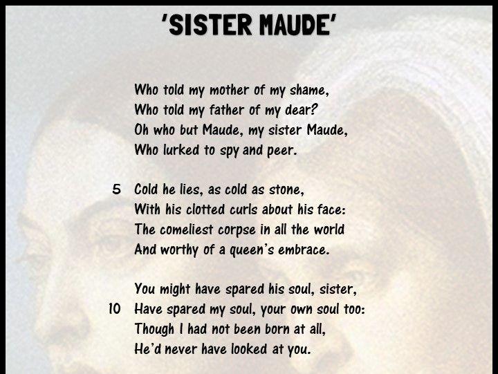 'Sister Maude'