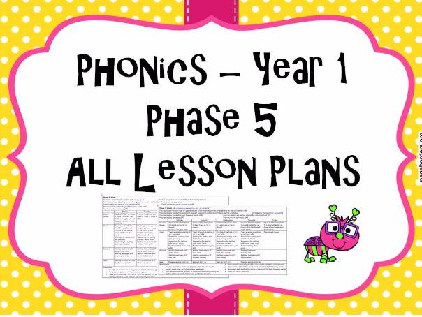 Phase 5 New sounds Alternative Spelling and Pronunciation Planning