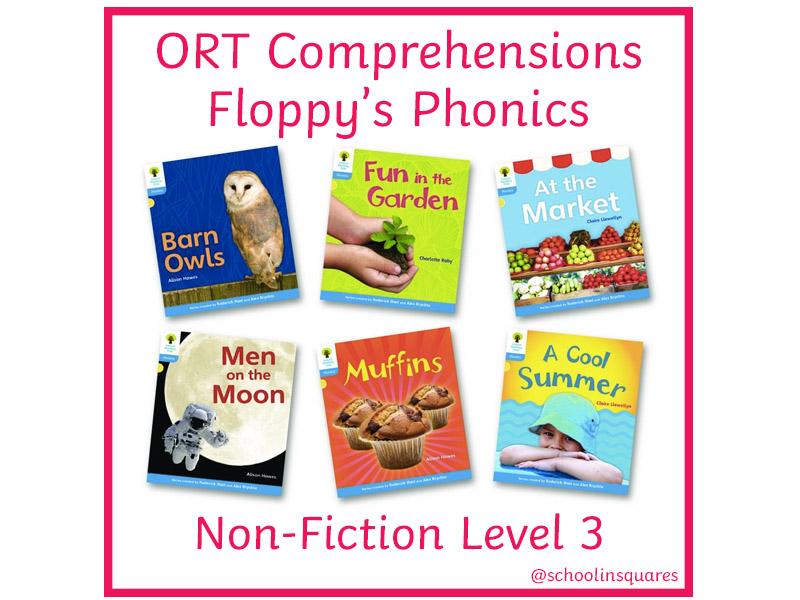ORT 3 Comprehension Bundle - Floppy's Phonics - Non-Fiction