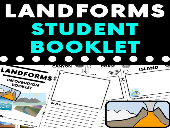 Landforms Student Booklet