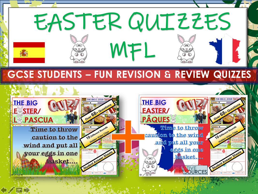 MFL Easter Quiz 2020 Spanish and French