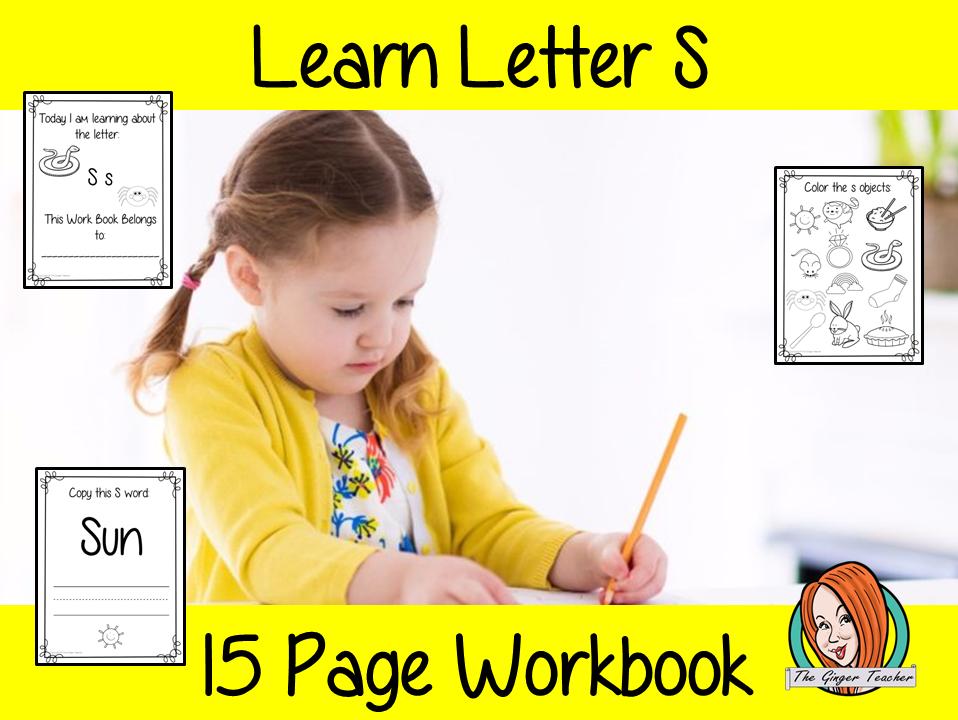 Alphabet Book Letter S