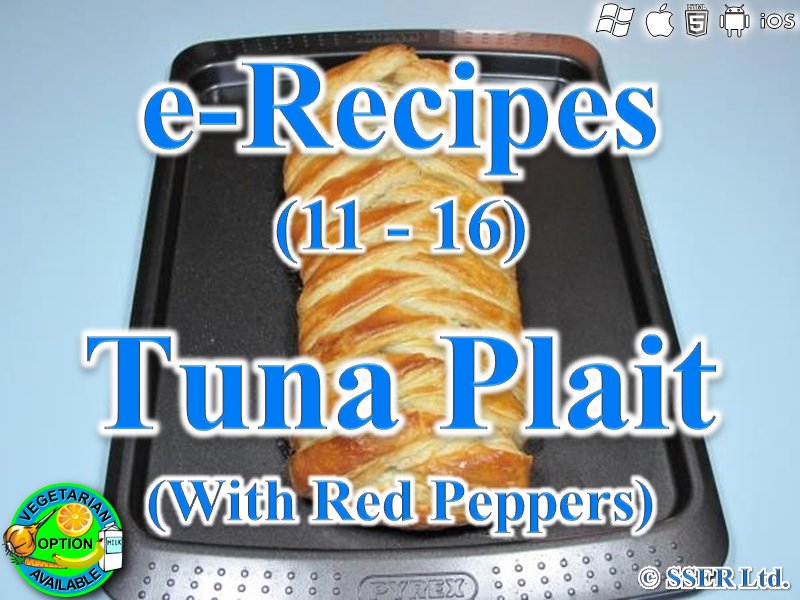 58.   Tuna & Red Pepper Plait (e-Recipe)
