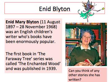 Enid Blyton - Enchanted Wood Creative Writing Lesson