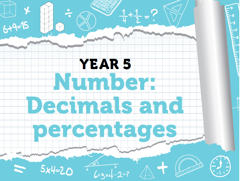 Year 5 Decimals and Percentages – White Rose Spring Weeks 10 and 11