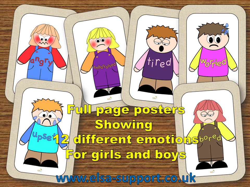 Emotion Posters and Emotion Cards