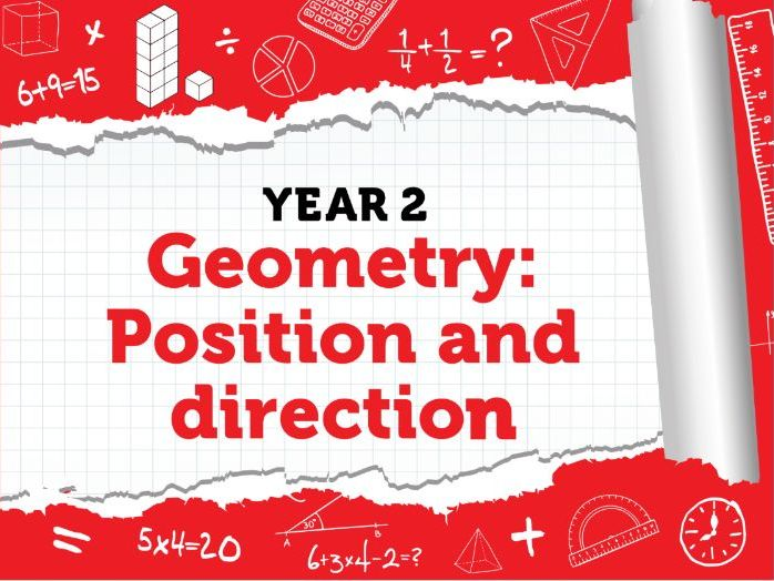 Year 2 Geometry:  Position and Direction: Week 3 Summer Term - White Rose Maths Resources