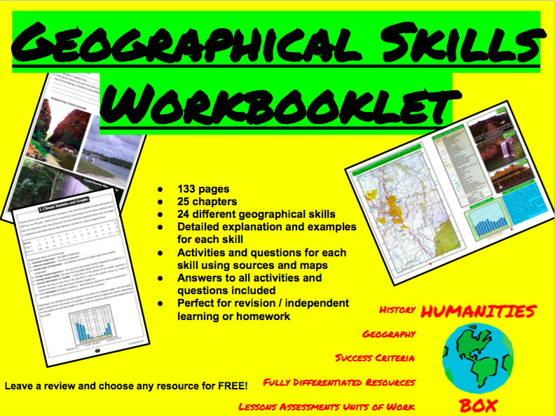 Geographical Skill Worksbooklet