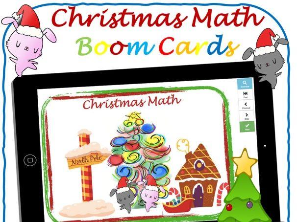 Christmas Math - Boom Cards