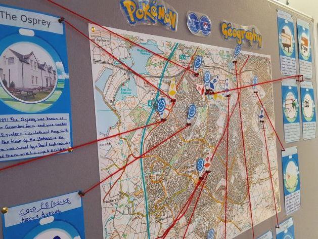 Pokemon Go Geography