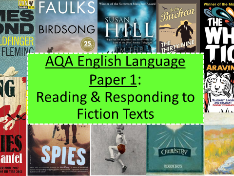 24 Lesson SoW -AQA GCSE English Language: Fiction Texts